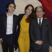 Anouchka Delon et Julien Dereims : Aux anges pour l'hommage à Kenzo Takada
