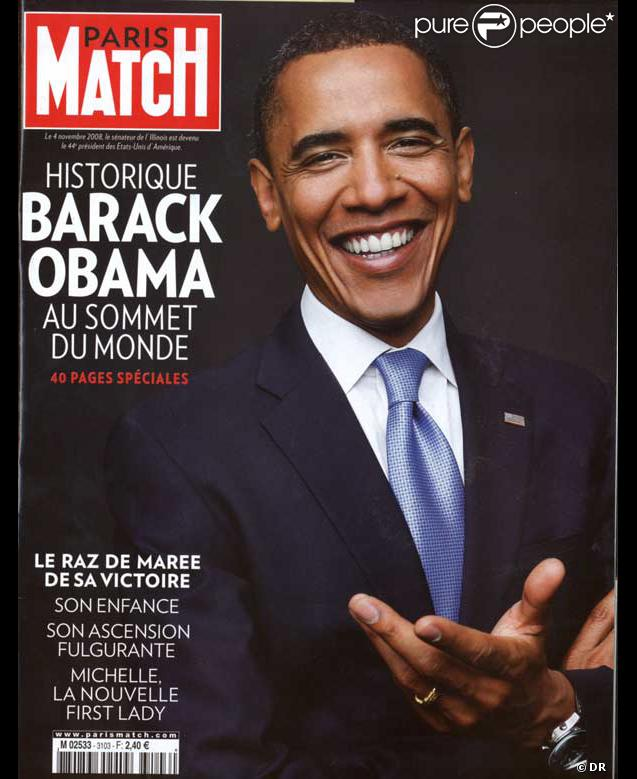 PARIS MATCH obama