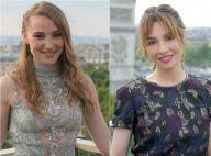 Déborah François et Alix Bénézech, en beauté pour briller sur les Champs-Elysées
