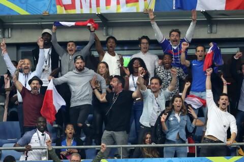 Euro 2016, France - Roumanie : En couple, en famille, les people tous au stade !