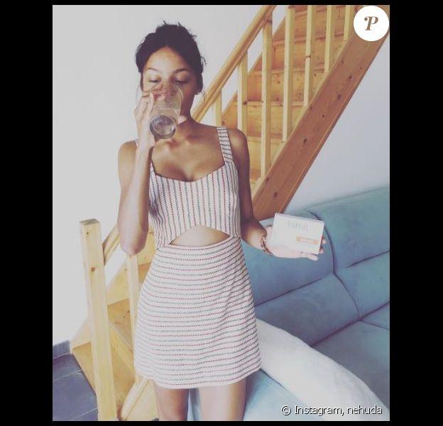 """Nehuda des """"Anges 8"""" fait la promotion de Luxéol sur Instagram"""