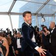 "Christophe Beaugrand à la montée des marches du film ""The Last Face"" lors du 69ème Festival International du Film de Cannes le 20 mai 2016. © Rachid Bellak / Bestimage"