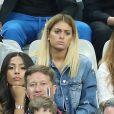 Mamadou Sakho et sa femme Majda, Mélanie (les anges 8) au match d'ouverture de l'Euro 2016, France-Roumanie au Stade de France, le 10 juin 2016. © Cyril Moreau/Bestimage