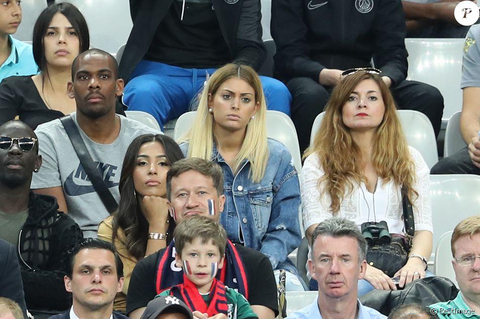 Mamadou sakho et sa femme majda m lanie les anges 8 au match d 39 ouverture de l 39 euro 2016 - Sonia mabrouk en couple ...