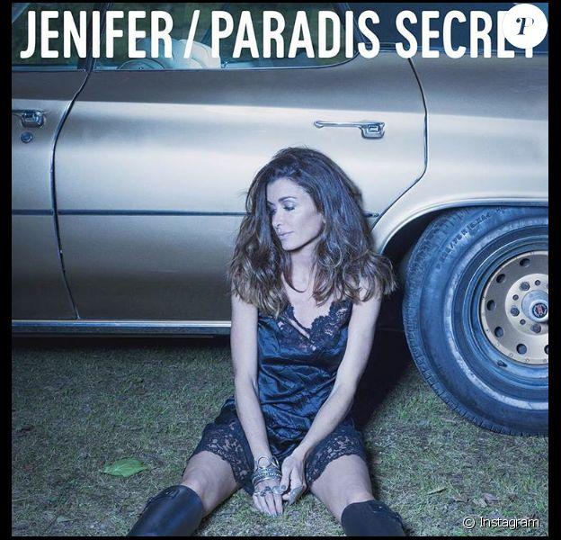 Jenifer dévoile la pochette de son prochain single Paradis Secret