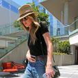 Amber Heard, qui a beaucoup maigri (10 kilos presque), se rend dans des bureaux à Los Angeles, le 16 juin 2016.