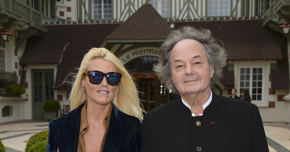 Gonzague saint bris et sa compagne alice bertheaume inauguration de l 39 h tel barri re le - Isabelle marie journaliste tf1 age ...