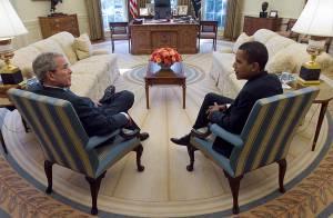 REPORTAGE PHOTOS : Les premiers pas de Barack Obama à la Maison Blanche !