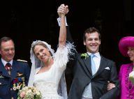 Mariage à Beloeil : La princesse Alix de Ligne a épousé Guillaume de Dampierre