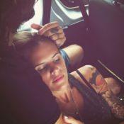 Laure Manaudou : Groupie fatiguée dans les bras de son chéri Jérémy Frérot