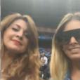 Mélanie (Les Anges 8) officialise avec Anthony Martial dans Le Mad Mag sur NRJ12. Ici avec sa maman pour soutenir les Bleus
