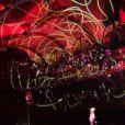 Exclusif - Concert exceptionnel de Grand Corps Malade avec de nombreux artistes sur scène au Trianon à Paris, le 17 juin 2016. À l'issue du concert Grand Corps Malade a reçu un disque de platine entouré de tous ses amis. © CVS / Veeren / Bestimage