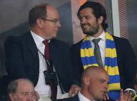 Euro 2016 : Pierre Casiraghi et Carl Philip de Suède, beaux supporters survoltés