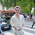 Gabriel-Kane Day-Lewis - Défilé Balmain (collection homme printemps-été 2017) à l'hôtel Potocki. Paris, le 25 juin 2016.