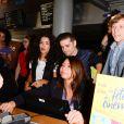Sabrina Ouazani, Arthur Dupont et Pascal Demolon - Soirée de lancement de la 32ème édition de la Fête du Cinéma à l'UGC Ciné Cité Bercy à Paris, le 26 juin 2016. © Coadic Guirec/Bestimage