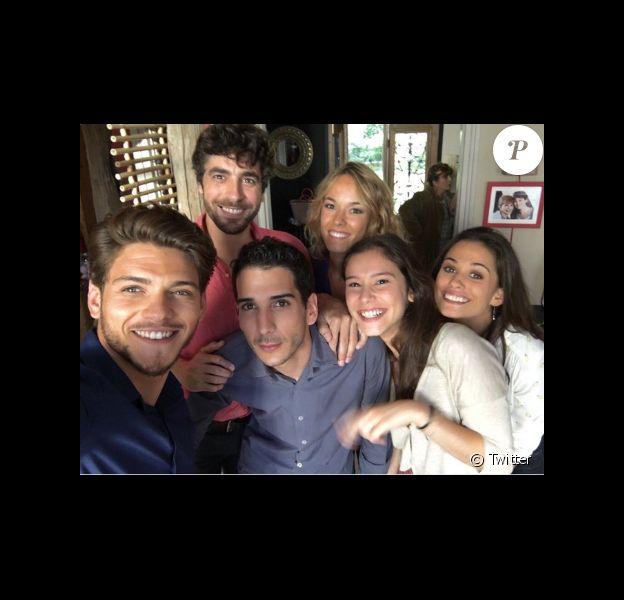 Rayane Bensetti a retrouvé le casting de Clem pour le tournage de la saison 7 !