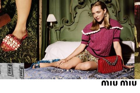 Amanda Seyfried : Mannequin irrésistible pour Miu Miu