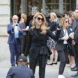 """Céline Dion - Arrivées au défilé de mode Haute-Couture automne-hiver 2016/2017 """"Christian Dior"""" à Paris. Le 4 juillet 2016 © CVS-Veeren / Bestimage"""