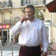 """Exclusif - Jean-Marie Bigard - Tournage du film """"Vive la crise"""" à Paris. Le 7 juin 2016 © Daniel Angeli / Bestimage"""