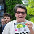 """Exclusif - Jean-François Davy - Tournage du film """"Vive la crise"""" à Paris. Le 25 juin 2016 © Daniel Angeli / Bestimage"""