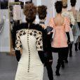 Défilé Chanel (collection haute couture automne-hiver 2016-2017) au Grand Palais. Paris, le 5 juillet 2016.