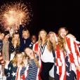 Ruby Rose et sa nouvelle chérie Harley Gusman célèbrent la fête de l'Indépendance Américaine chez Taylor Swift. Photo publiée sur Instagram, le 5 juillet 2016