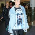 Ruby Rose arrive à l'aéroport de LAX à Los Angeles, le 21 mai 2016 © CPA/Bestimage