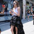 Gigi Hadid pose pour un photo shoot à West Hollywood, Los Angeles, le 29 juin 2016.
