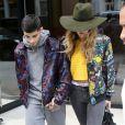 Gigi Hadid et Zayn Malik dans les rues de New York le 6 juillet 2016