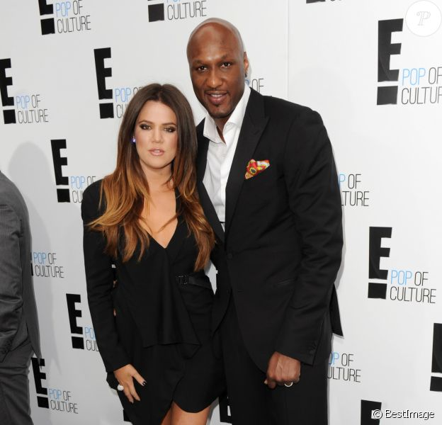 Khloe Kardashian, Lamar Odom à la soirée E! Pop of Culture à New York, le 30 avril 2012