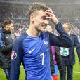 Antoine Griezmann - Match de quart de finale de l'UEFA Euro 2016 France-Islande au Stade de France à Saint-Denis le 3 juillet 2016. © Cyril Moreau / Bestimage
