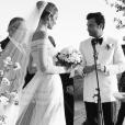 Mariage d'Ana Beatriz Barros et Karim El Chiaty sur l'île de Mykonos. Juillet 2016.