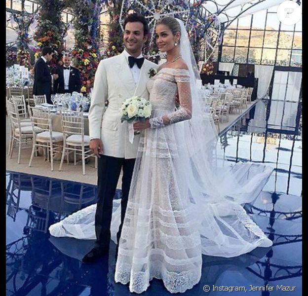 Mariage d'Ana Beatriz Barros et Karim El Chiaty à Mykonos. Juillet 2016.
