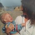Photo de Cindy Crawford et son fils Presley publiée le 2 juillet 2016.