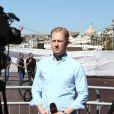 De nombreux journalistes présents à Nice pour couvrir l'attentat, le 15 juillet 2016