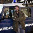 """L'acteur Franck Sémonin pour la serie """" Section de recherches """" au festival de Luchon - 18ème Festival des créations télévisuelles de Luchon le 4 Février 2016."""