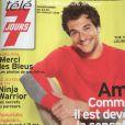 """Amir en couverture de """"Télé 7 jours"""", en kiosques. Programme du 23 au 29 juillet 2016."""