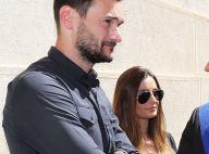 Attentat de Nice : Hugo Lloris et sa femme émus, recueillement sur la Promenade