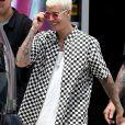 Exclusif - Justin Bieber passe une journée ensoleillée sur un yacht avec Ashley Benson et des amis à Miami. Le chanteur s'amuse avec un wavejet, discute et plaisante avec ses amis. Le 3 juillet 2016