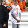 Justin Bieber lors du 74ème Grand Prix de Formule 1 de Monaco, le 29 mai 2016.