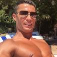 Cristiano Ronaldo en vacances, petit selfie pour son compte Instagram en juillet 2016