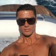 Cristiano Ronaldo en vacances sur un yacht, photo Instagram en juillet 2016