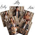 Couvertures du numéro d'août 2016 du magazine VOGUE Germany.