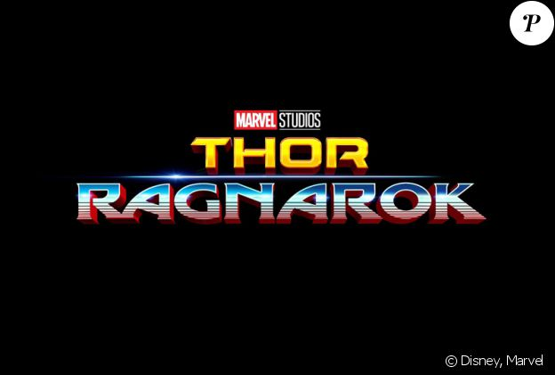 Premier logo pour Thor 3 : Ragnarok.