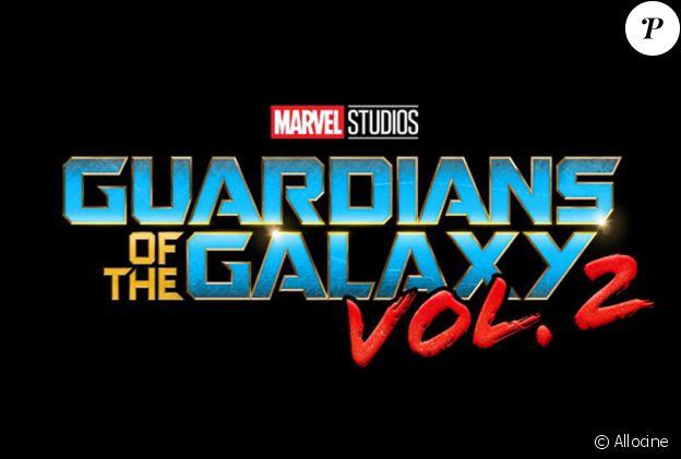 Premier logo pour Les Gardiens de la Galaxie 2.
