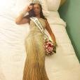Génésis Davila, élue Miss Porto Rico en 2014 et Miss Miami Beach en 2016, remporte l'élection Miss Floride 2017. Photo publiée sur sa page Instagram