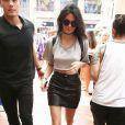 Kendall Jenner devant l'hôtel La Valencia à La Jolla, le 27 juillet 2016