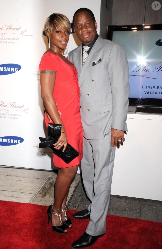 Mary J. Blige et Martin Isaacs à New York. Septembre 2008.
