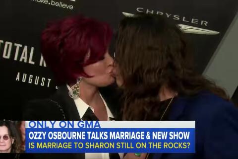 """Ozzy et Sharon Osbourne réconciliés ? """"Ce n'était qu'un accident de parcours"""""""