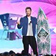 """Chris Evans- Cérémonie des Teen Choice Awards 2016 dans la salle """"The Forum"""" à Inglewood, Los Angeles, le 31 juillet 2016."""